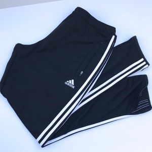 Adidas Zip-Ankle Climacool Track Athletic Pants L